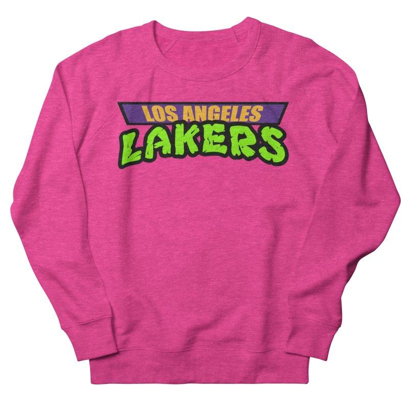 Laker Power Women's French Terry Sweatshirt by Mike Hampton's T-Shirt Shop