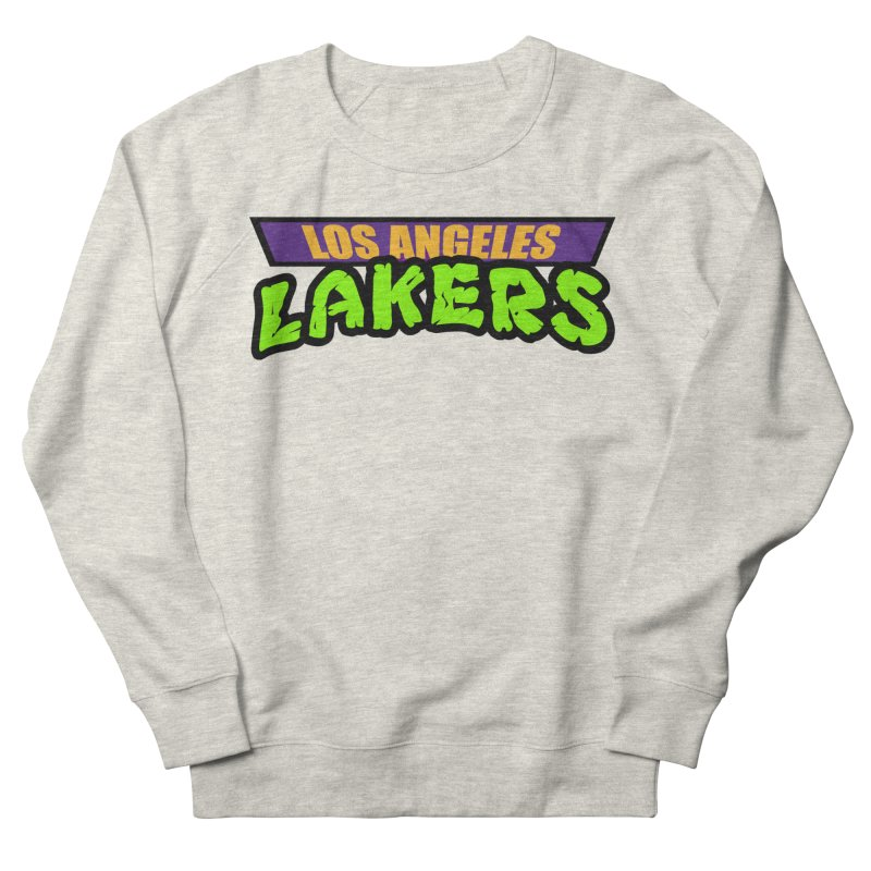 Laker Power Women's French Terry Sweatshirt by Mike Hampton's T-Shirt Shop