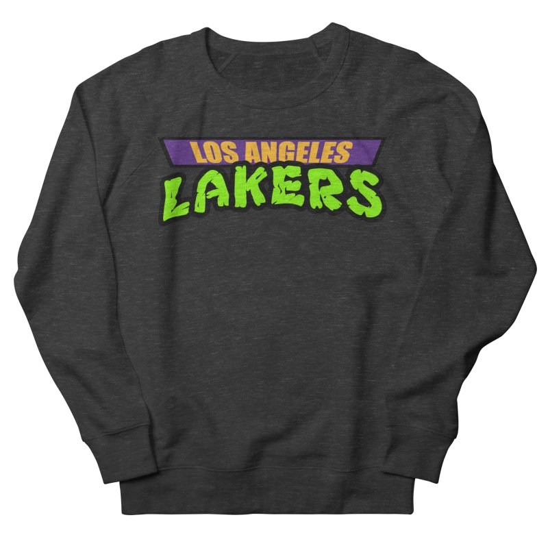 Laker Power Men's French Terry Sweatshirt by Mike Hampton's T-Shirt Shop