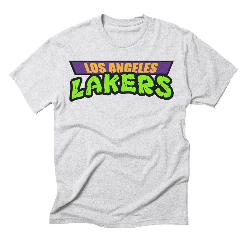 Laker Power Men's Triblend T-Shirt by Mike Hampton's T-Shirt Shop