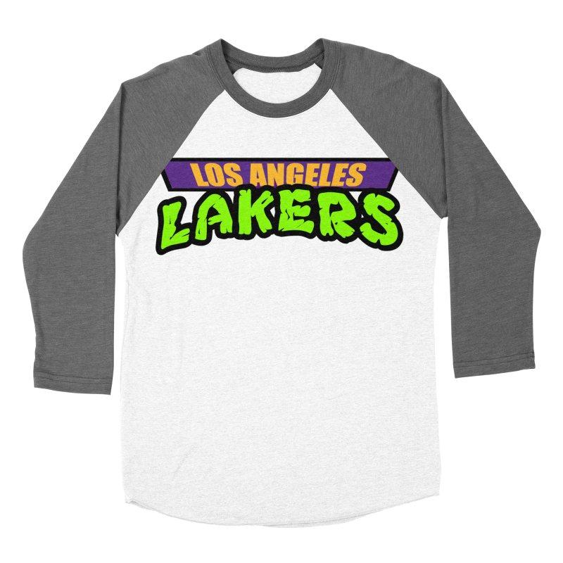 Laker Power Women's Baseball Triblend Longsleeve T-Shirt by Mike Hampton's T-Shirt Shop