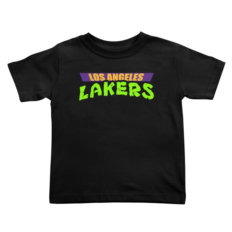 Laker Power Kids Toddler T-Shirt by Mike Hampton's T-Shirt Shop