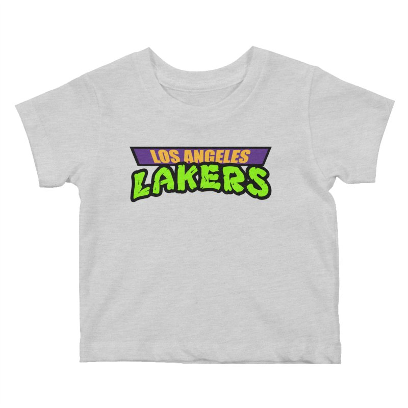 Laker Power Kids Baby T-Shirt by Mike Hampton's T-Shirt Shop