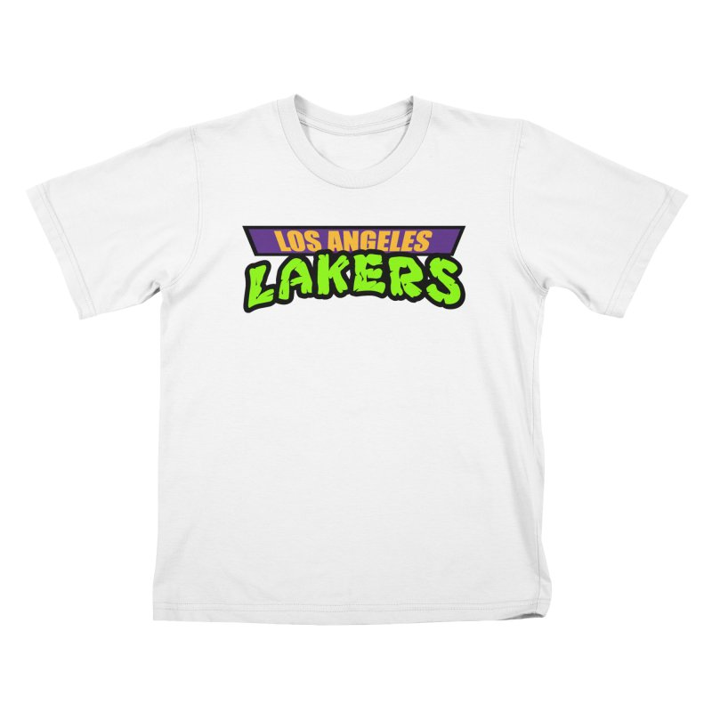 Laker Power Kids T-Shirt by Mike Hampton's T-Shirt Shop