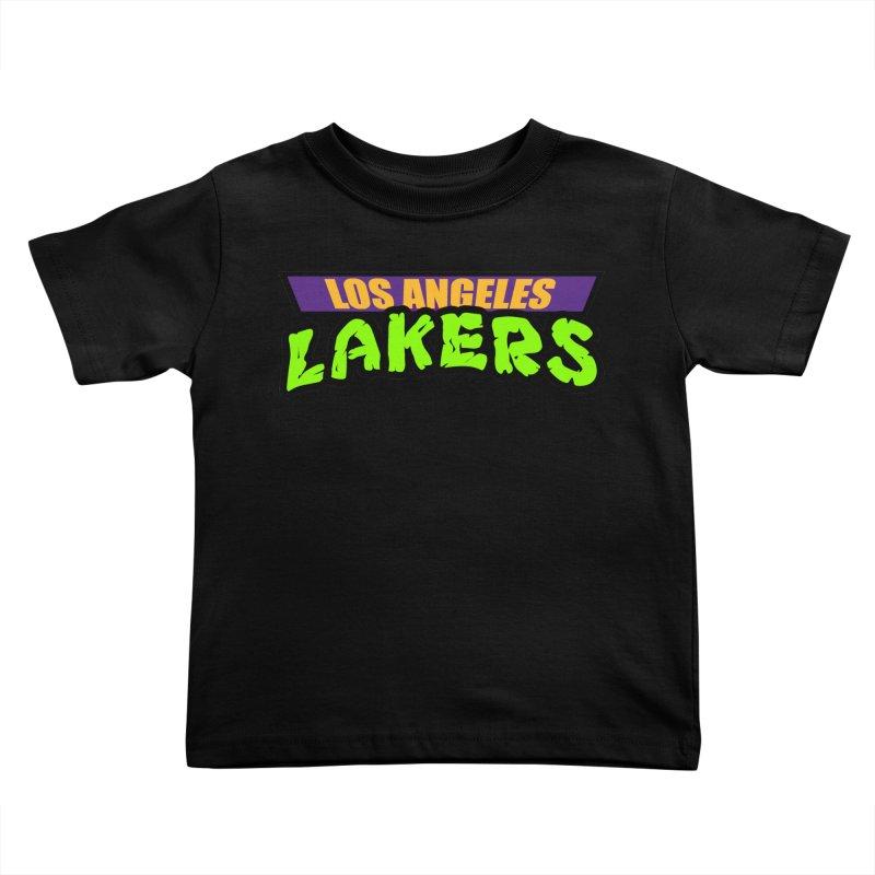 Laker Power Kids Toddler T-Shirt by Mike Hampton's T-Shirt Shop