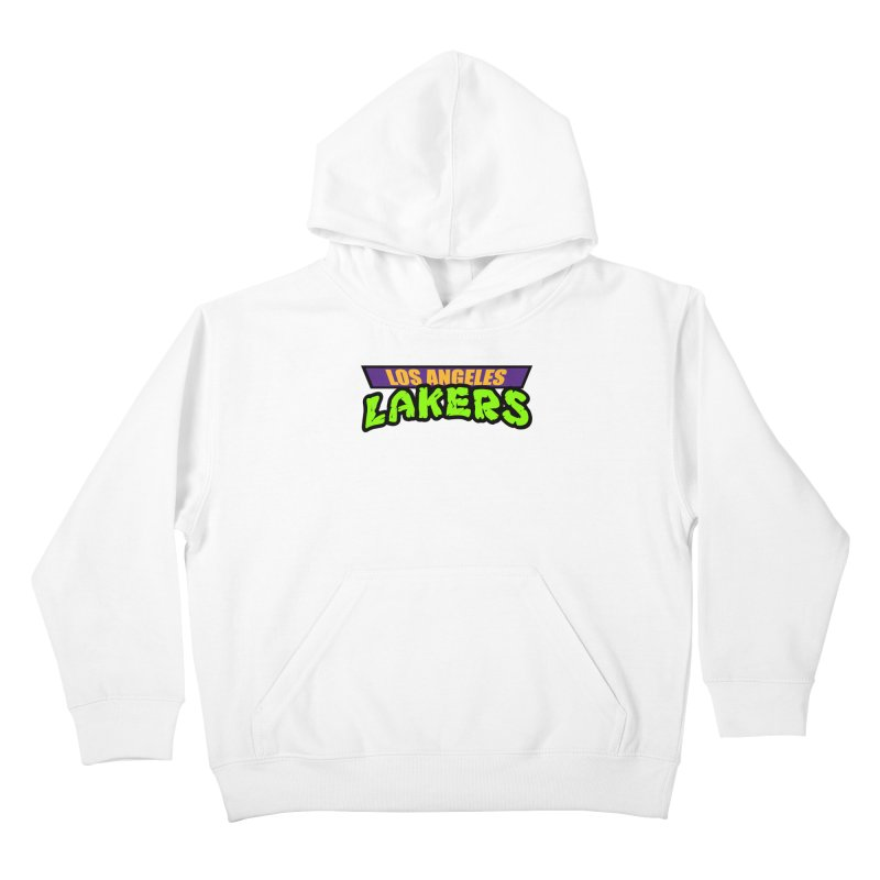 Laker Power Kids Pullover Hoody by Mike Hampton's T-Shirt Shop