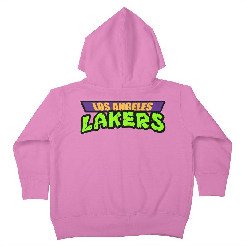 Laker Power Kids Toddler Zip-Up Hoody by Mike Hampton's T-Shirt Shop