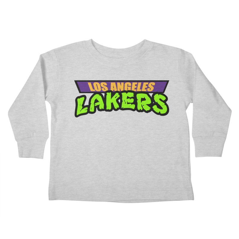 Laker Power Kids Toddler Longsleeve T-Shirt by Mike Hampton's T-Shirt Shop