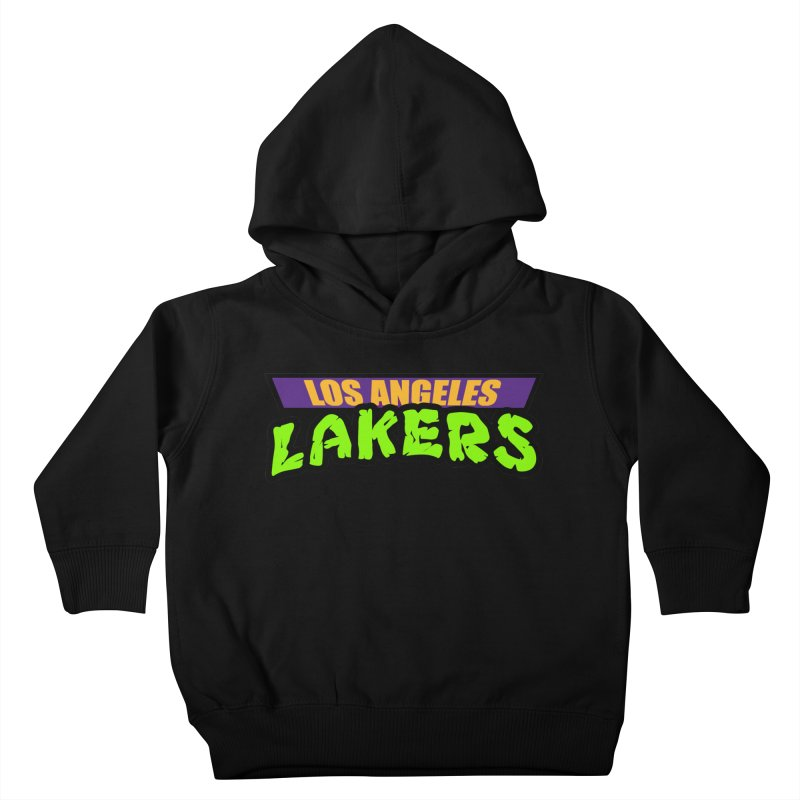 Laker Power Kids Toddler Pullover Hoody by Mike Hampton's T-Shirt Shop