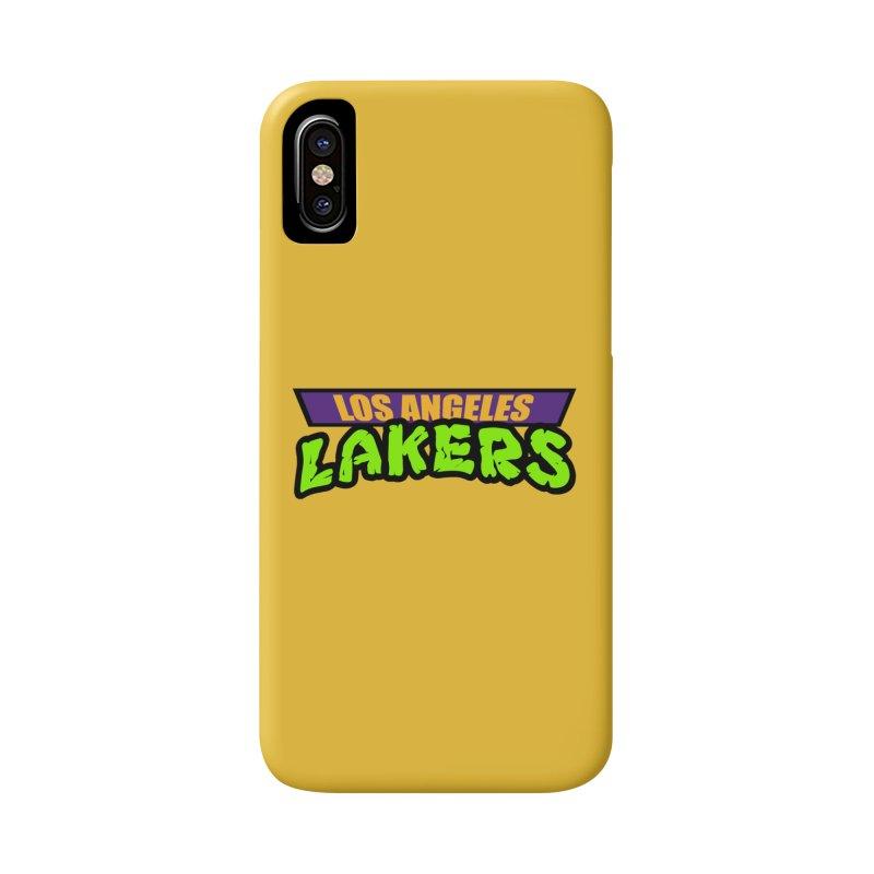 Laker Power Accessories Phone Case by Mike Hampton's T-Shirt Shop