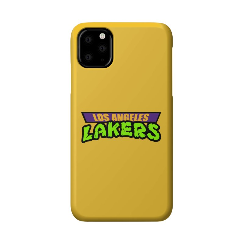 Laker Power Accessories Phone Case by Mike Hampton's T-Shirt Shop