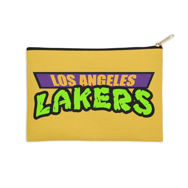 Laker Power Accessories Zip Pouch by Mike Hampton's T-Shirt Shop