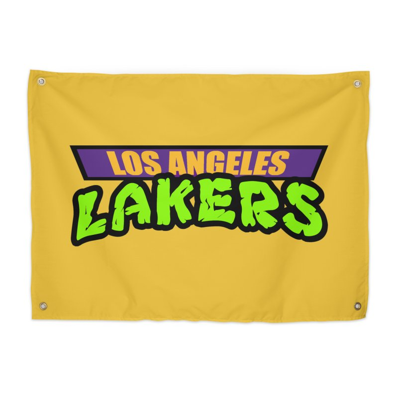Laker Power Home Tapestry by Mike Hampton's T-Shirt Shop