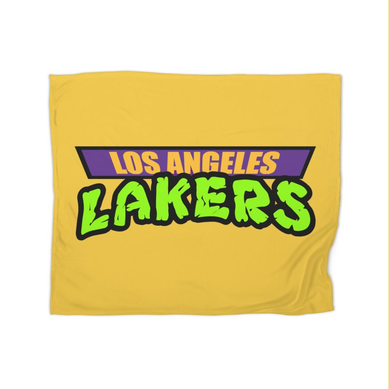 Laker Power Home Blanket by Mike Hampton's T-Shirt Shop