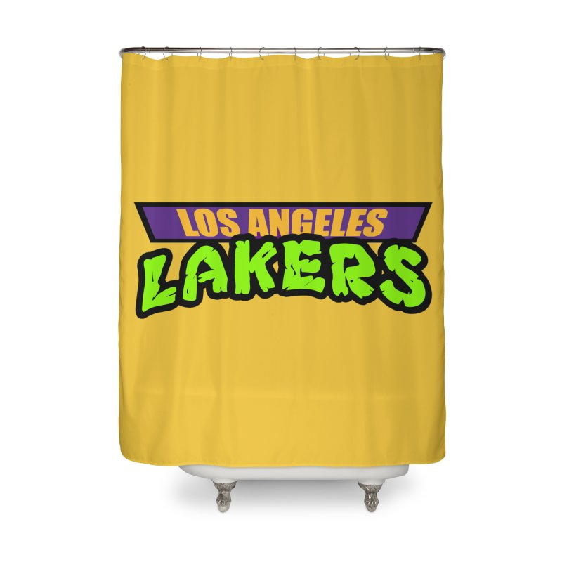 Laker Power Home Shower Curtain by Mike Hampton's T-Shirt Shop