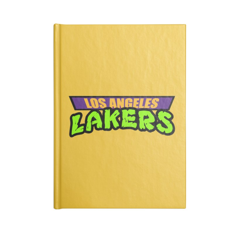 Laker Power Accessories Notebook by Mike Hampton's T-Shirt Shop