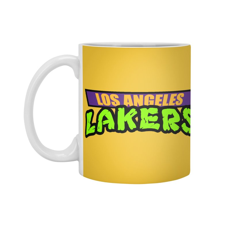 Laker Power Accessories Standard Mug by Mike Hampton's T-Shirt Shop