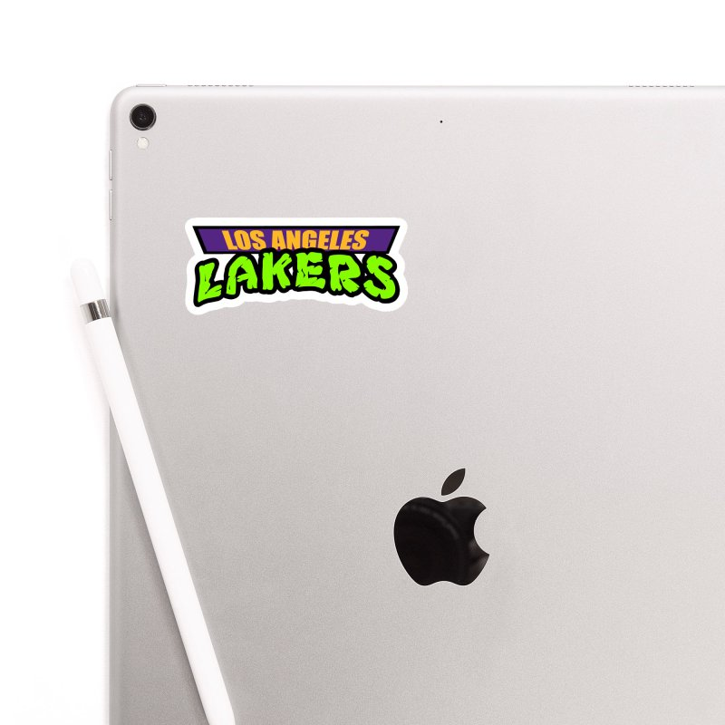 Laker Power Accessories Sticker by Mike Hampton's T-Shirt Shop
