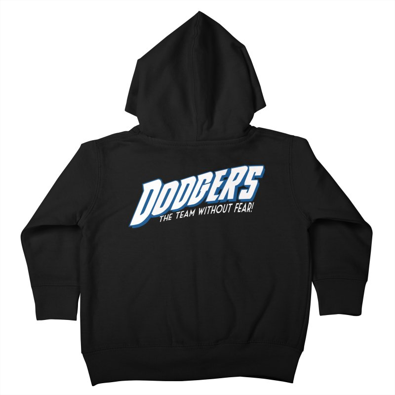 The Team Without Fear! Kids Toddler Zip-Up Hoody by Mike Hampton's T-Shirt Shop