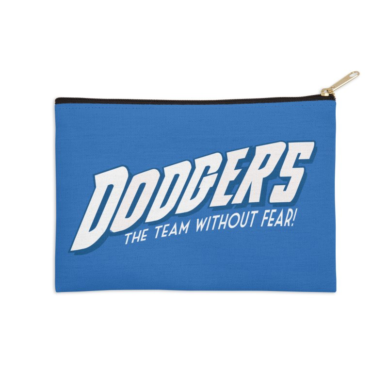 The Team Without Fear! Accessories Zip Pouch by Mike Hampton's T-Shirt Shop
