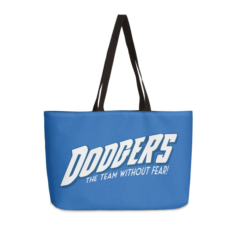 The Team Without Fear! Accessories Weekender Bag Bag by Mike Hampton's T-Shirt Shop