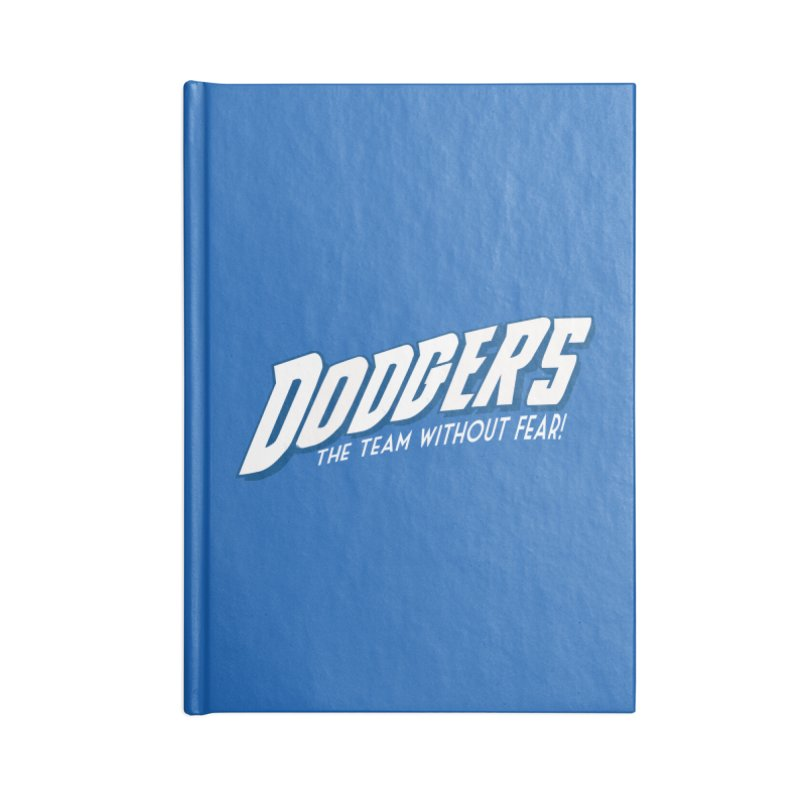 The Team Without Fear! Accessories Lined Journal Notebook by Mike Hampton's T-Shirt Shop