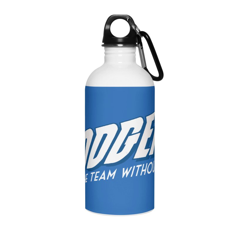 The Team Without Fear! Accessories Water Bottle by Mike Hampton's T-Shirt Shop