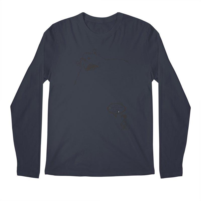 The Boogie Man is my Friend Men's Longsleeve T-Shirt by Mike Hampton's T-Shirt Shop