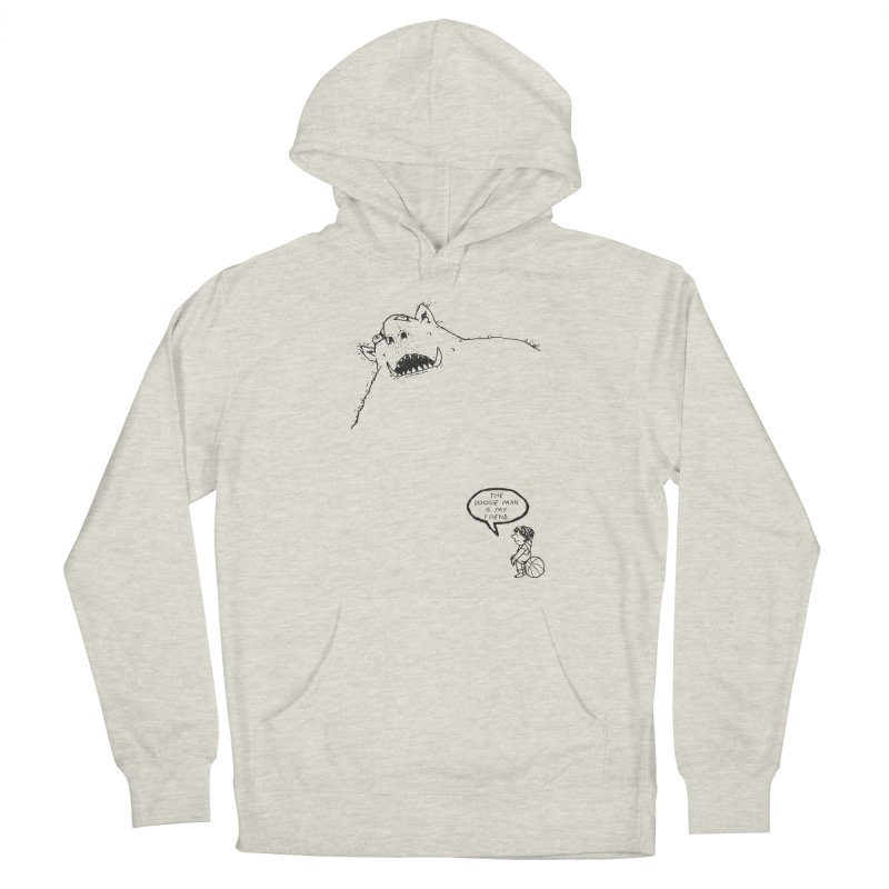 The Boogie Man is my Friend Men's Pullover Hoody by Mike Hampton's T-Shirt Shop