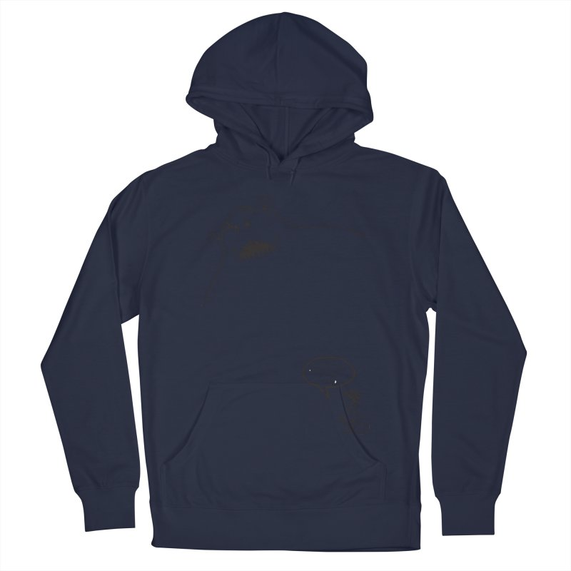 The Boogie Man is my Friend Men's French Terry Pullover Hoody by Mike Hampton's T-Shirt Shop