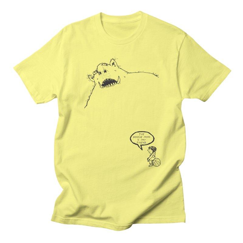 The Boogie Man is my Friend Men's T-Shirt by Mike Hampton's T-Shirt Shop