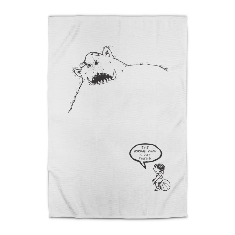 The Boogie Man is my Friend Home Rug by Mike Hampton's T-Shirt Shop