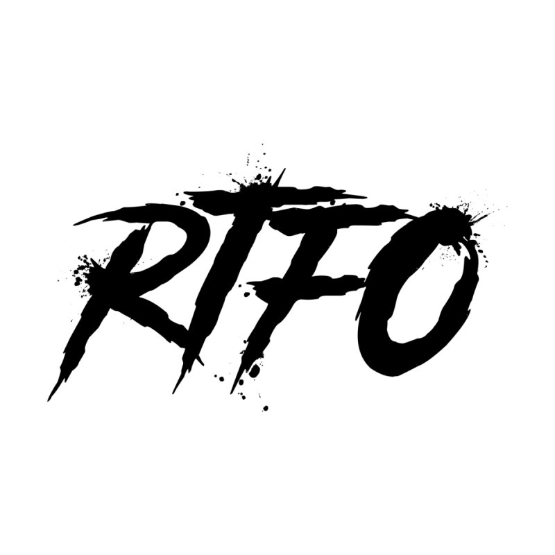 RTFO Home Stretched Canvas by Mike Hampton's T-Shirt Shop