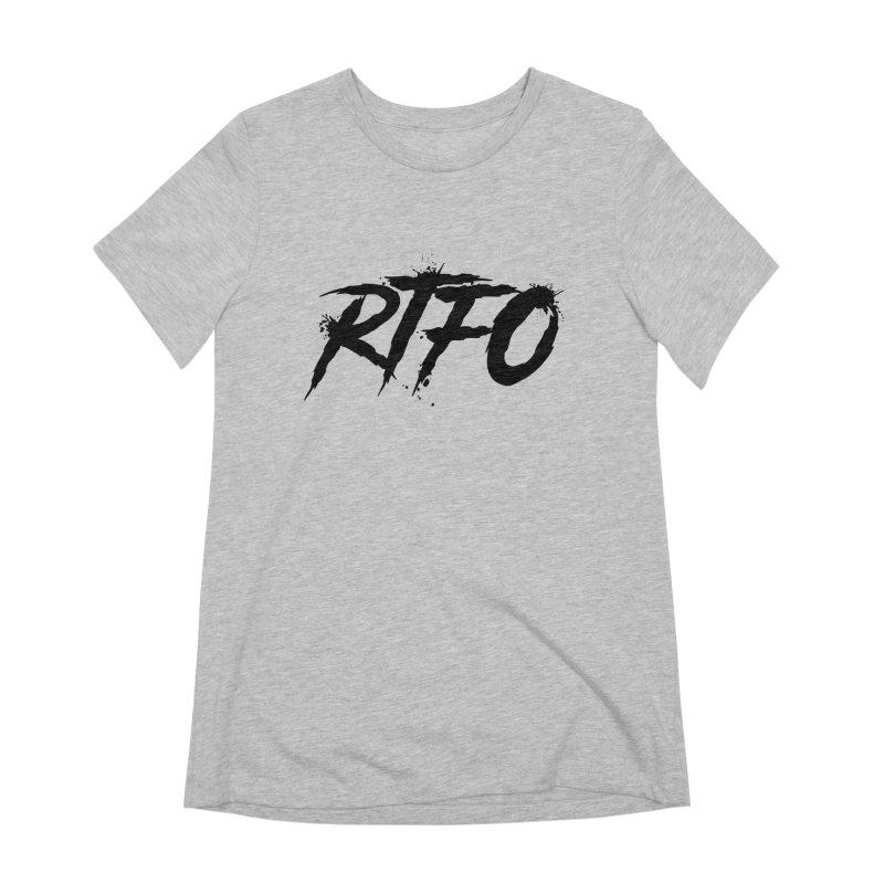 RTFO Women's Extra Soft T-Shirt by Mike Hampton's T-Shirt Shop