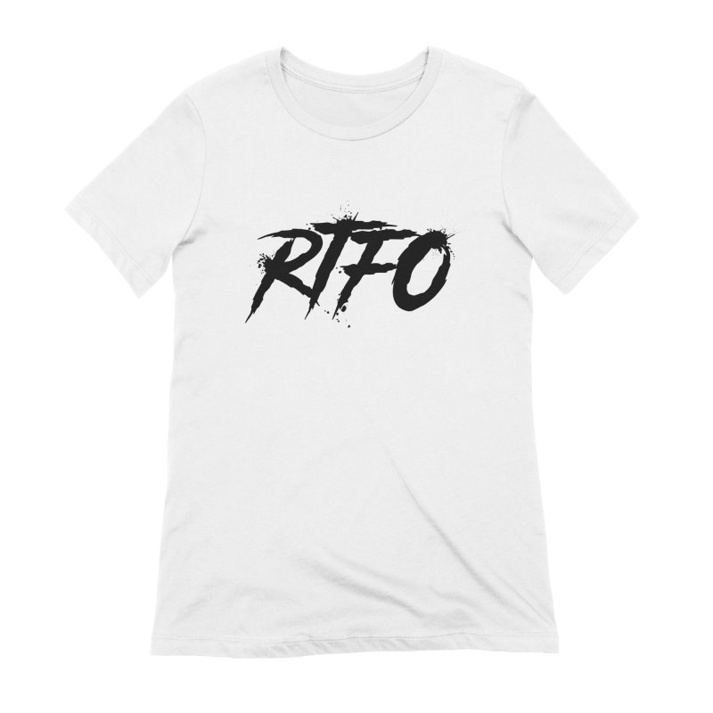 RTFO Women's Extra Soft T-Shirt by Mike Hampton's T-Shirt Shop