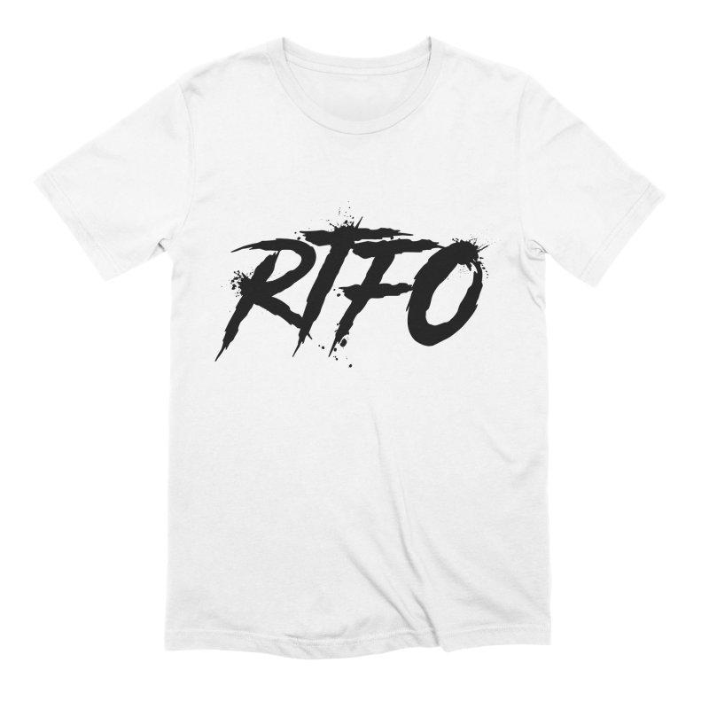 RTFO Men's Extra Soft T-Shirt by Mike Hampton's T-Shirt Shop