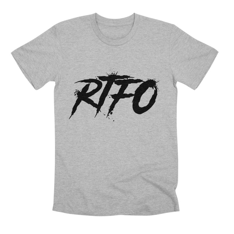 RTFO Men's Premium T-Shirt by Mike Hampton's T-Shirt Shop