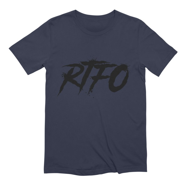 RTFO Men's Extra Soft T-Shirt by Mike Hampton's T-Shirt Shop