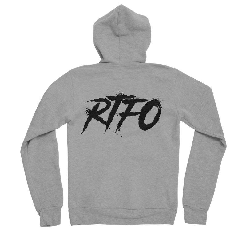 RTFO Men's Sponge Fleece Zip-Up Hoody by Mike Hampton's T-Shirt Shop