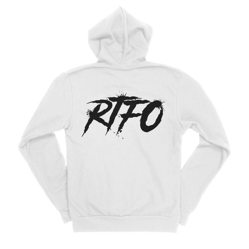 RTFO Women's Sponge Fleece Zip-Up Hoody by Mike Hampton's T-Shirt Shop