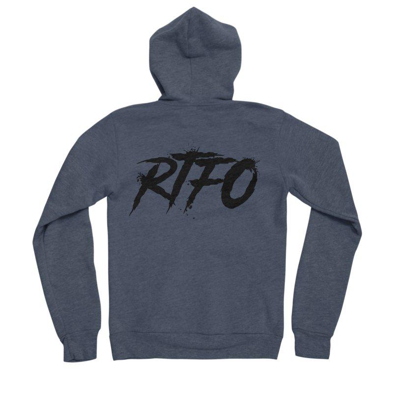 RTFO Women's Sponge Fleece Zip-Up Hoody by Mike Hampton's T-Shirt Shop
