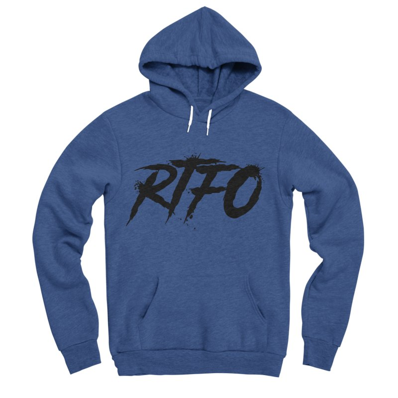 RTFO Men's Sponge Fleece Pullover Hoody by Mike Hampton's T-Shirt Shop