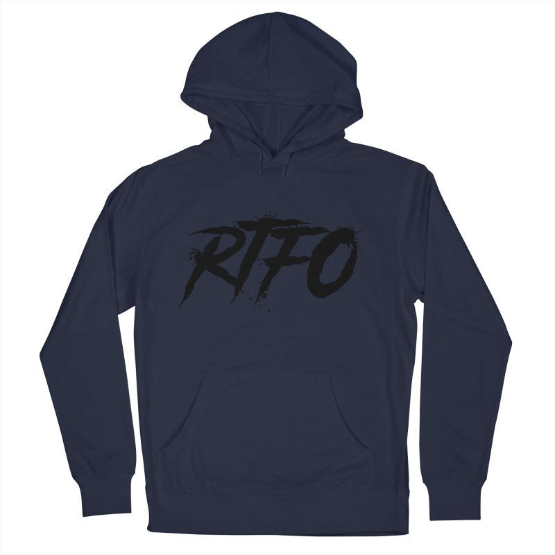 RTFO Women's French Terry Pullover Hoody by Mike Hampton's T-Shirt Shop