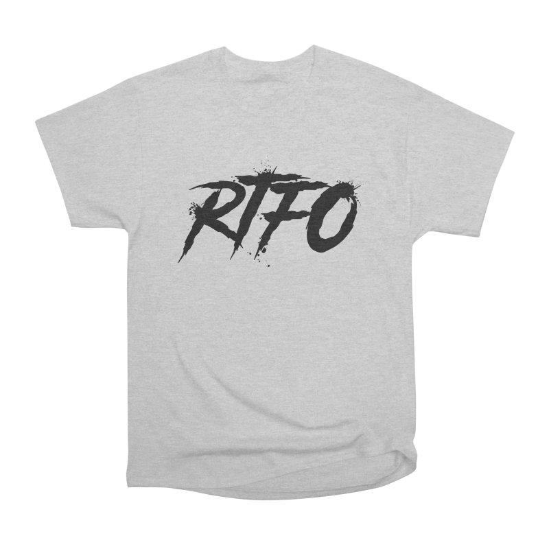 RTFO Men's Heavyweight T-Shirt by Mike Hampton's T-Shirt Shop