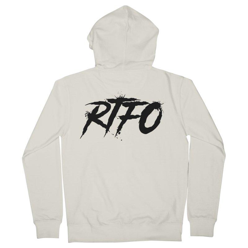 RTFO Women's French Terry Zip-Up Hoody by Mike Hampton's T-Shirt Shop