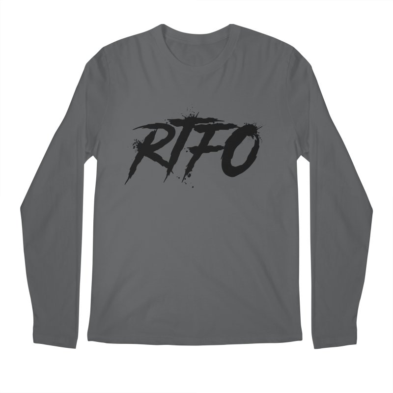 RTFO Men's Longsleeve T-Shirt by Mike Hampton's T-Shirt Shop