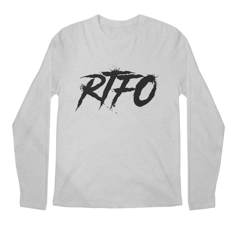 RTFO Men's Regular Longsleeve T-Shirt by Mike Hampton's T-Shirt Shop