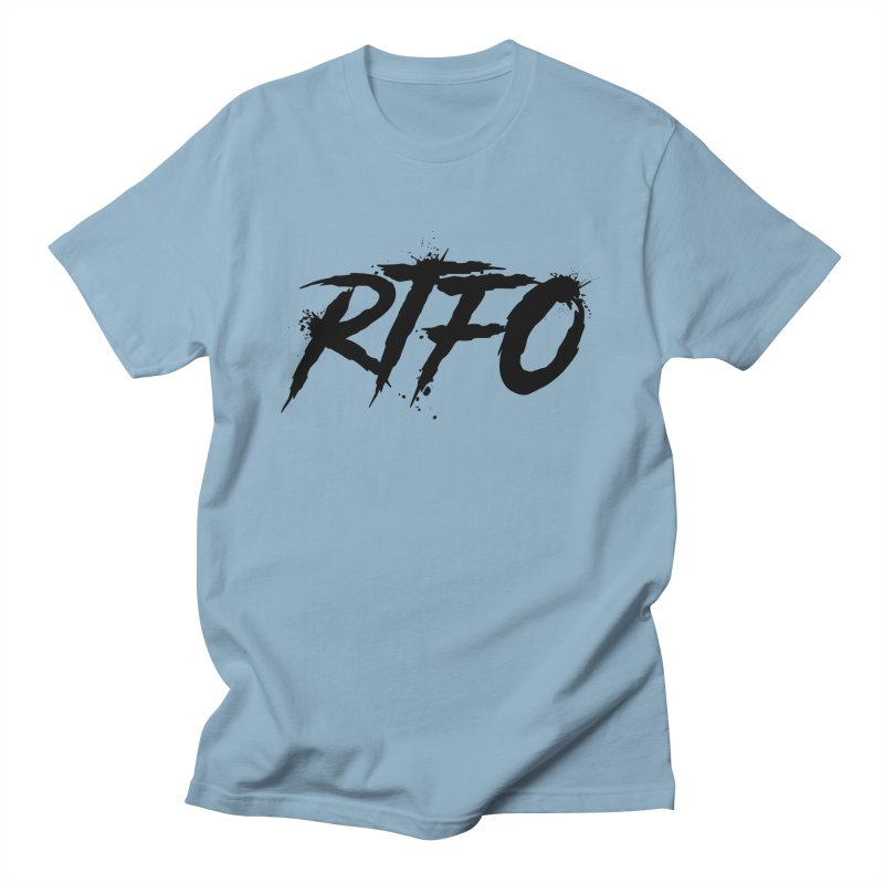 RTFO Men's Regular T-Shirt by Mike Hampton's T-Shirt Shop