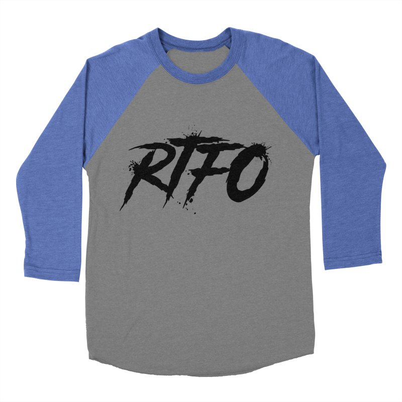 RTFO Women's Baseball Triblend Longsleeve T-Shirt by Mike Hampton's T-Shirt Shop