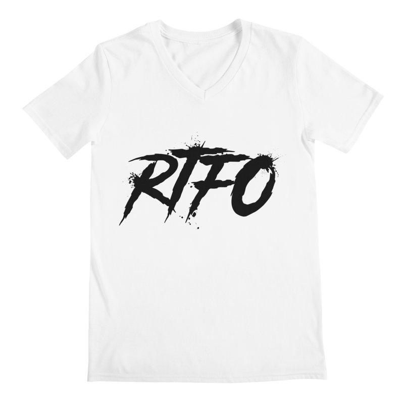 RTFO Men's V-Neck by Mike Hampton's T-Shirt Shop
